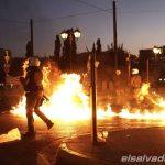 Incidentes en Grecia.