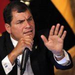 El gobernante ecuatoriano, Rafael Correa, quien estará en el poder hasta 2017. foto edh / internet
