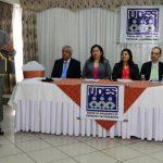 La Unión de Dirigentes de Empresas Salvadoreñas (UDES) realizó un foro sobre el futuro de las pensiones. Foto EDH