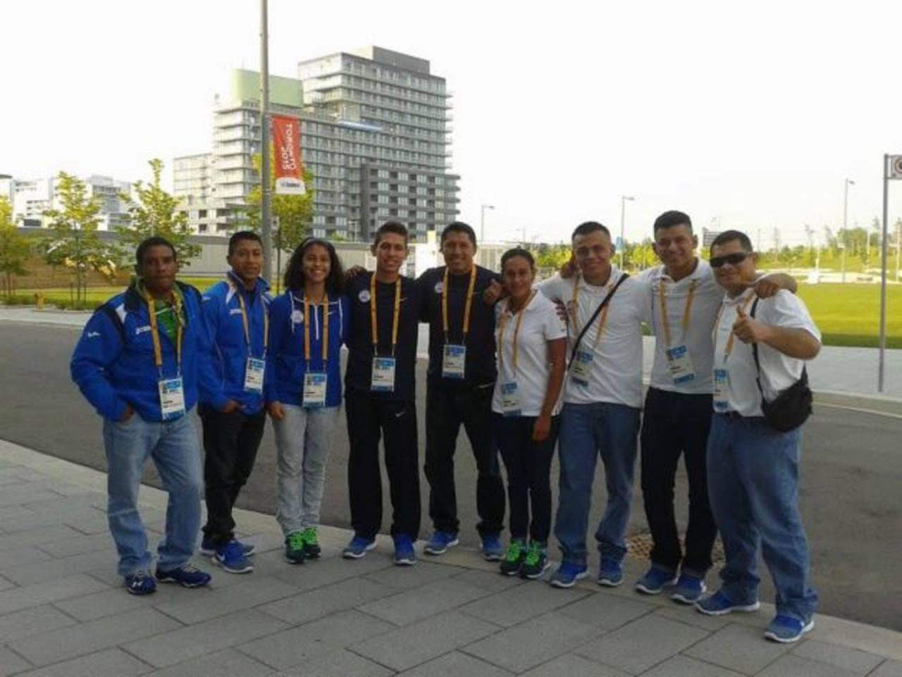 Atletas de bádminton, aguas abiertas, gimnasia y judo. Foto EDH/ Cortesía Coes