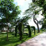 La residencial Condado Santa Rosa cuenta con abundantes áreas verdes. Foto Expansión/ Mauricio Cáceres.