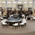 Chanel invitó a jugar en su casino de alta costura