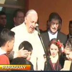 Papa Francisco oficia su primera misa en Paraguay