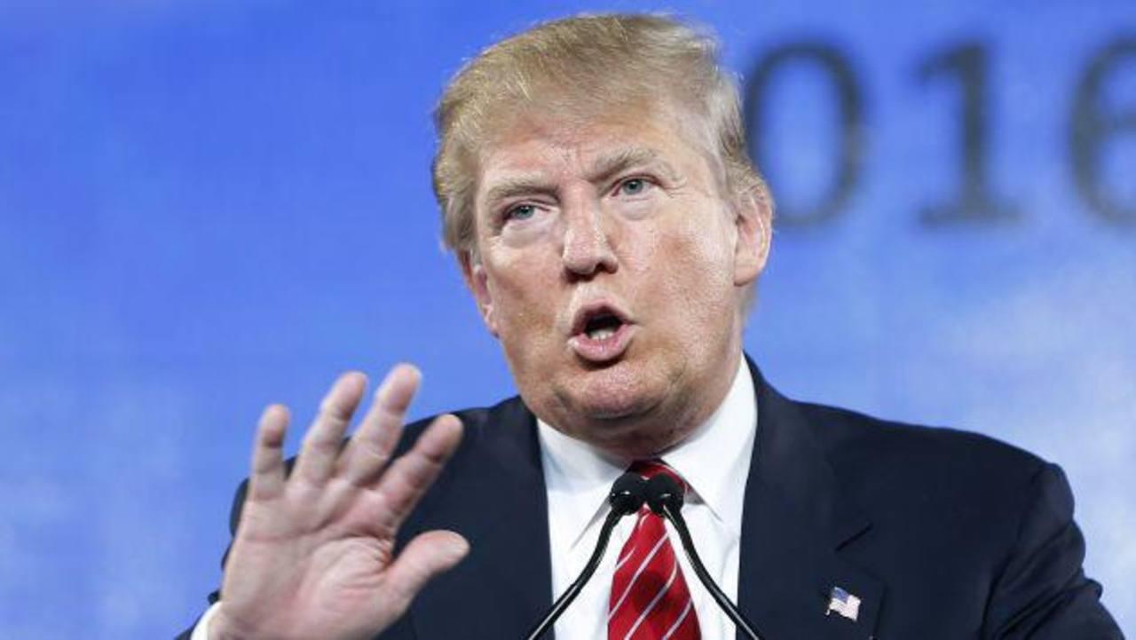 El magnate estadounidense no evitó la oportunidad para reafirmar su postura antiinmigrante.