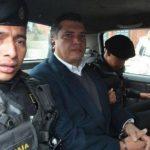 Policía de Guatemala detiene al yerno de Otto Pérez Molina, Gustavo Martínez, quien fungió como secretario general de la presidencia.