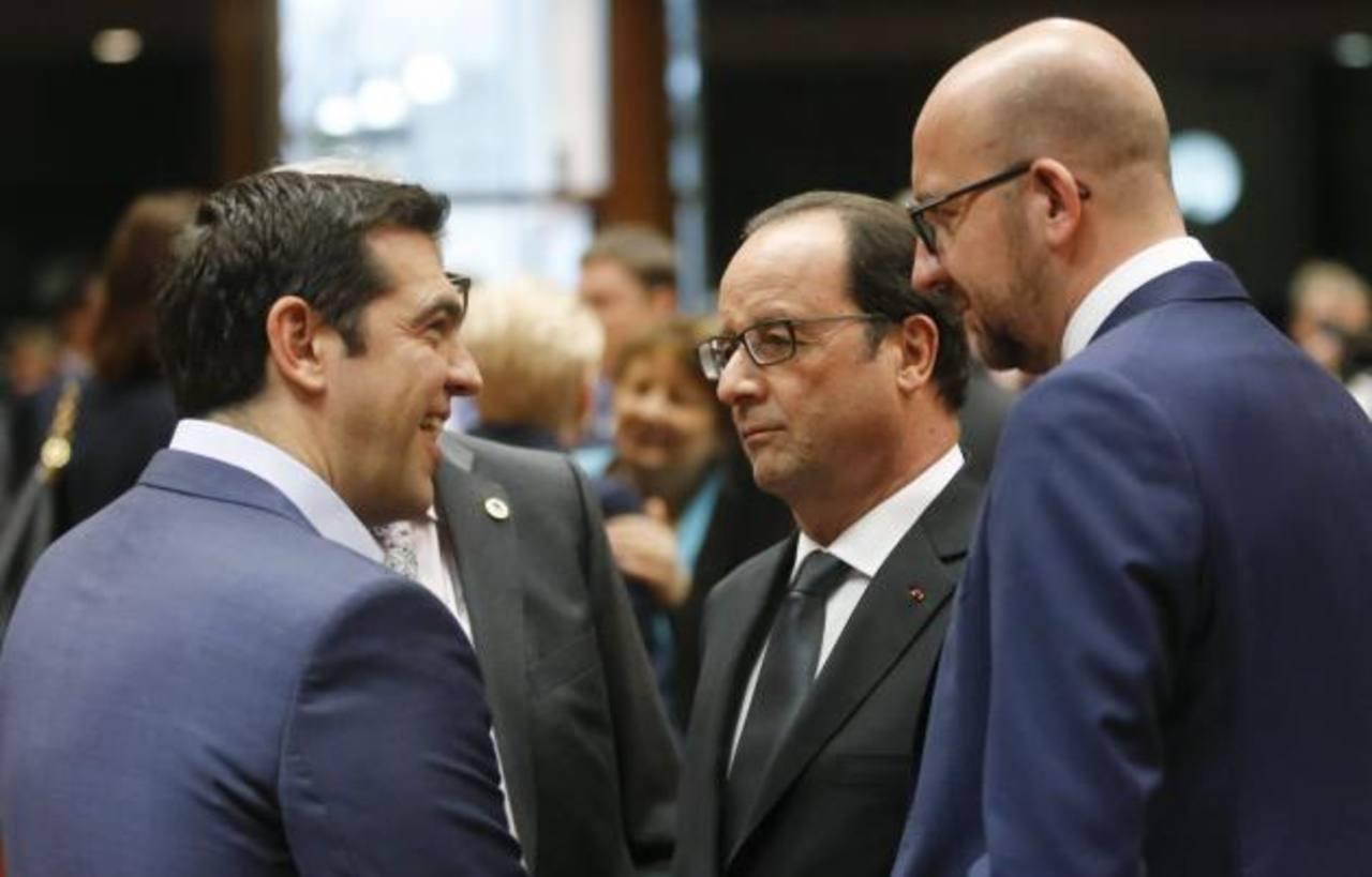 Comienza cumbre decisiva líderes del euro sobre Grecia