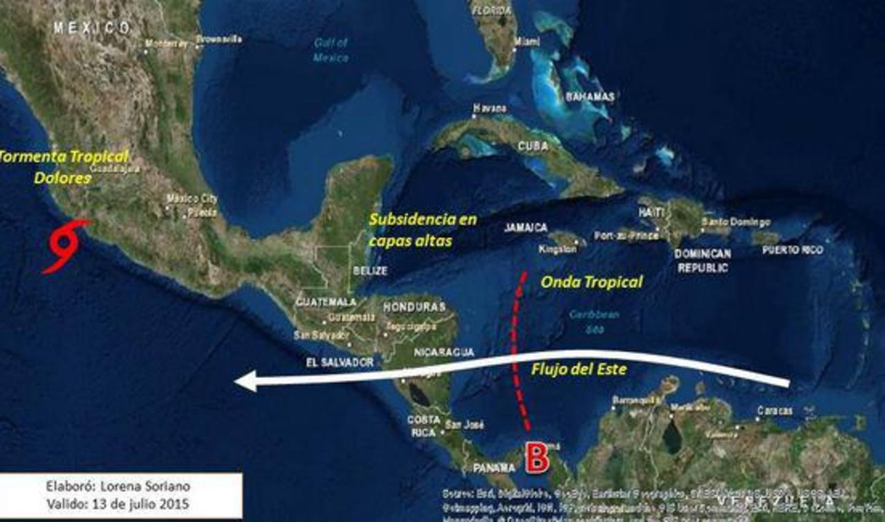 Dolores amenaza con volverse huracán frente a México
