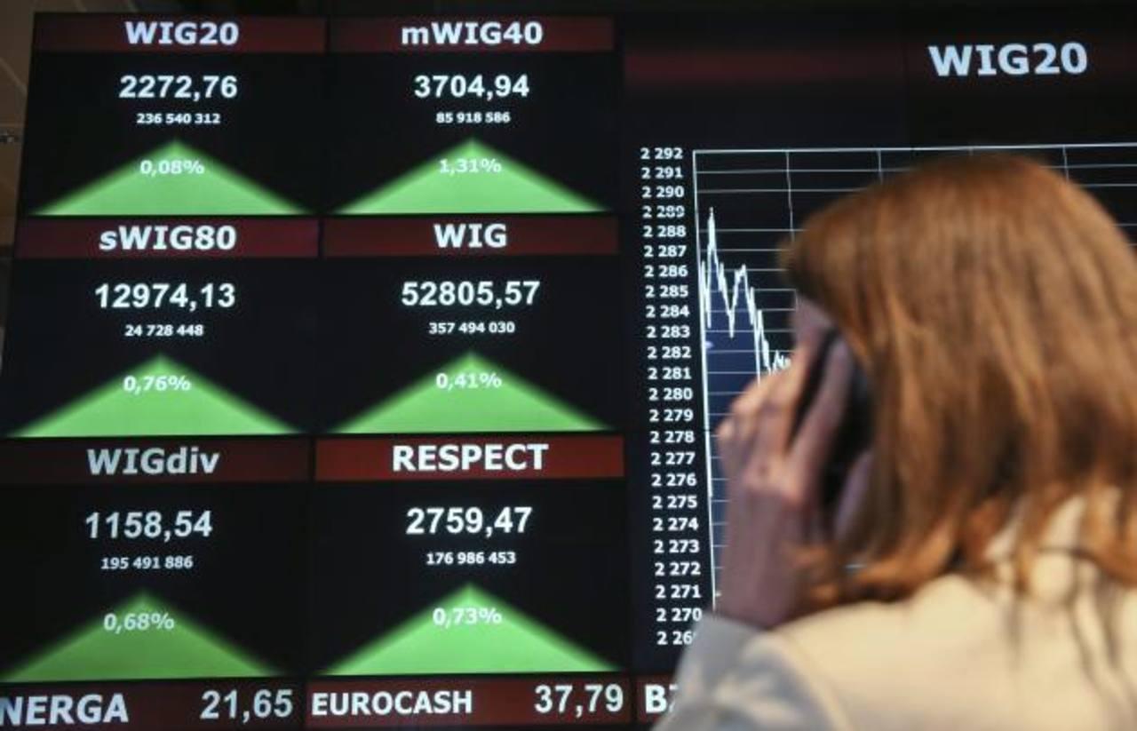 El índice WIG registró subidas tras el acuerdo alcanzado por los países del eurogrupo con Grecia.