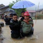 Tifón Linfa deja 1,6 millones de afectados en el sur de China
