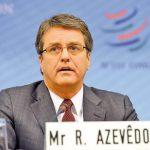 Roberto Azevedo Director General de la Organizacion Mundial del Comercio (OMC)