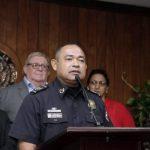 El director de la PNC, Mauricio Ramírez Landaverde, también enfatizó en otras necesidades de la institución. Foto EDH / CORTESÍA