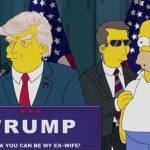 Video: Los Simpson se burlan de Donald Trump