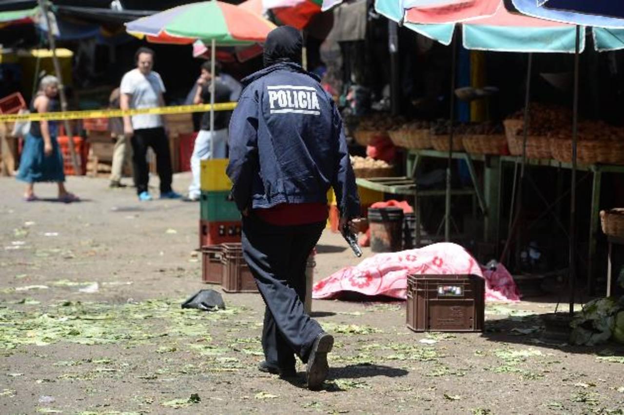 El comerciante Miguel Acevedo Osorto fue asesinado ayer en La Tiendona. Foto EDH / JAIME ANAYA