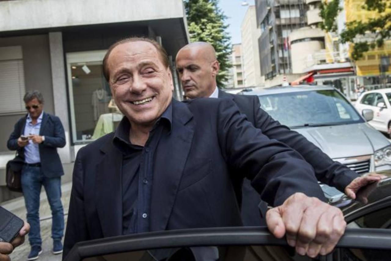 Silvio Berlusconi fue condenado ayer por soborno.