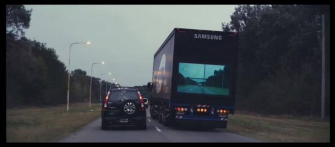 Una de las aplicaciones premiadas fue Safety Truck, para ayudar a prevenir accidentes de tránsito. Esta aplicación ganó siete premios. foto edh / cortesía