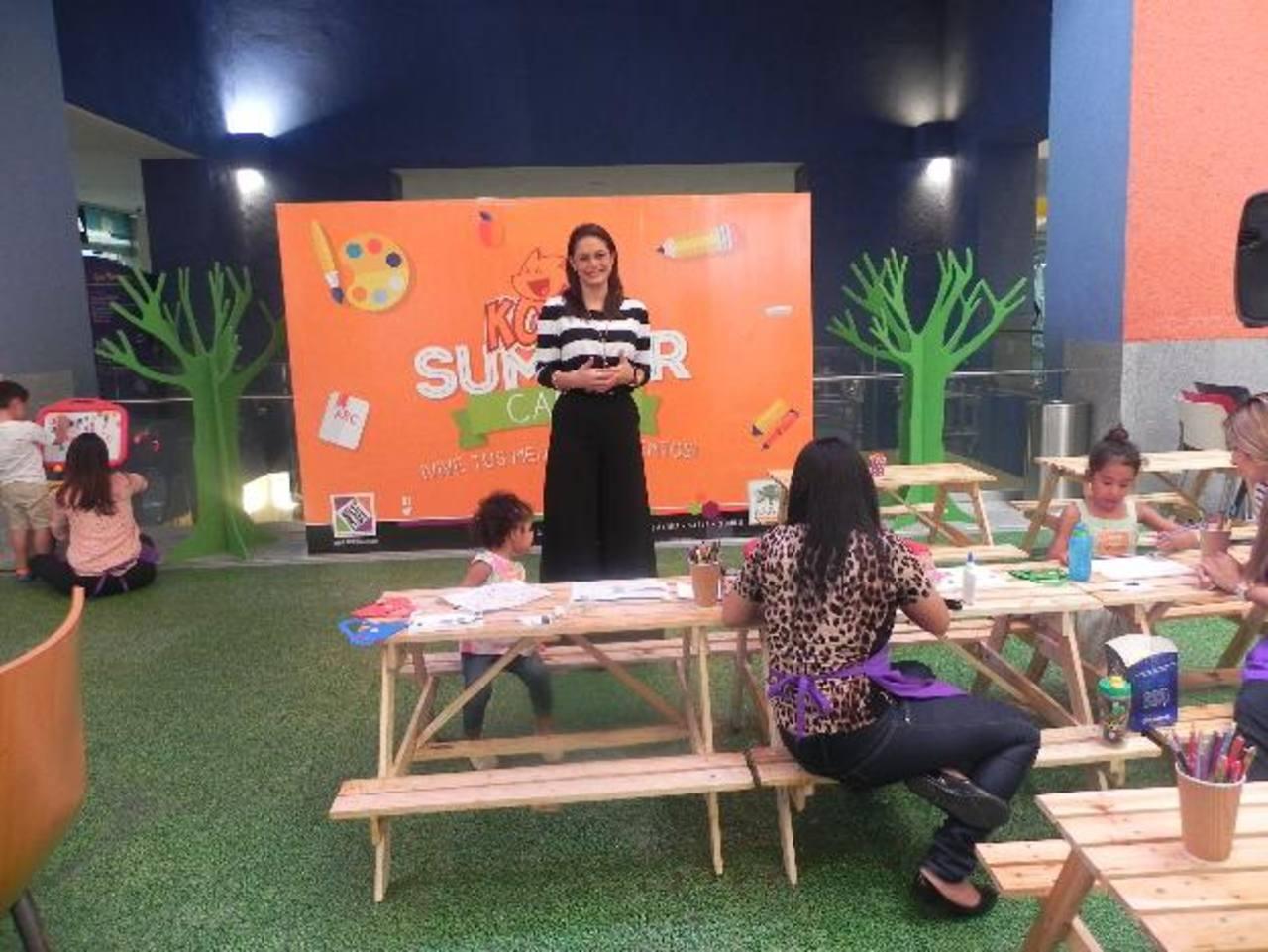 Clases de cocina, juegos y abundante diversión hallarás en Summer Camp de Multiplaza. Foto EDH/Xenia Zepeda