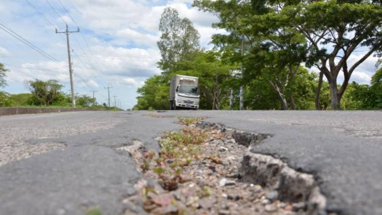 MOP no puede reparar vía San Miguel hacia La Unión