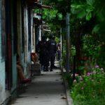 El agente y su hijo fueron asesinados ayer en La Campanera. Foto EDH / Jorge Reyes
