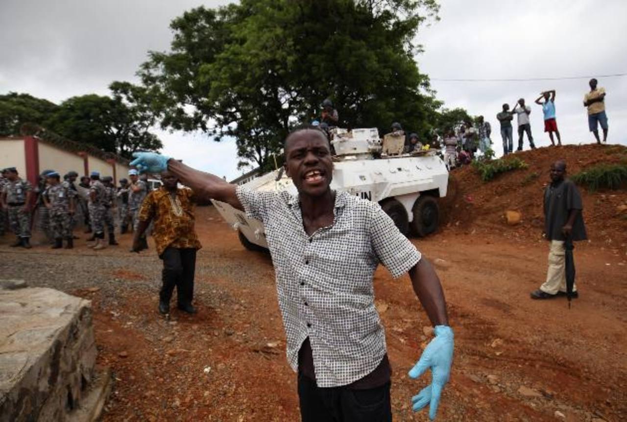 OMS reúne nuevamente su comité de emergencia para evaluar situación del ébola