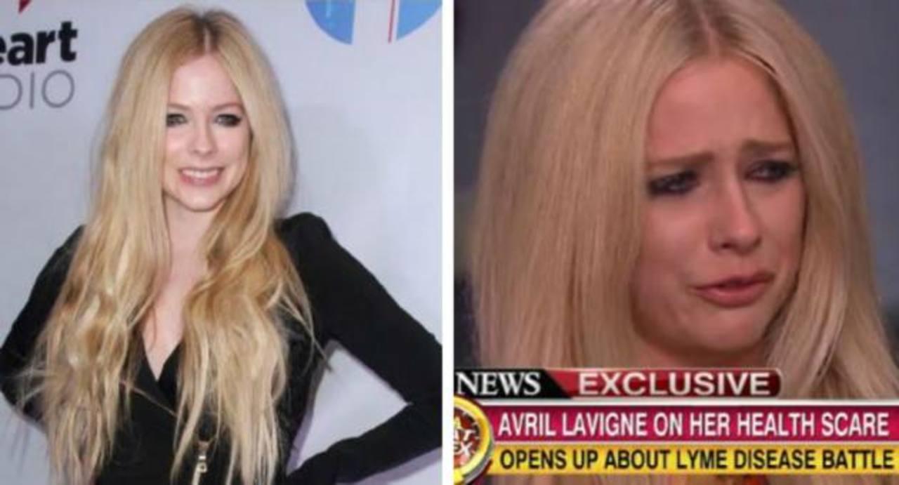 Avril Lavigne entre llanto revela lo terrible de su enfermedad