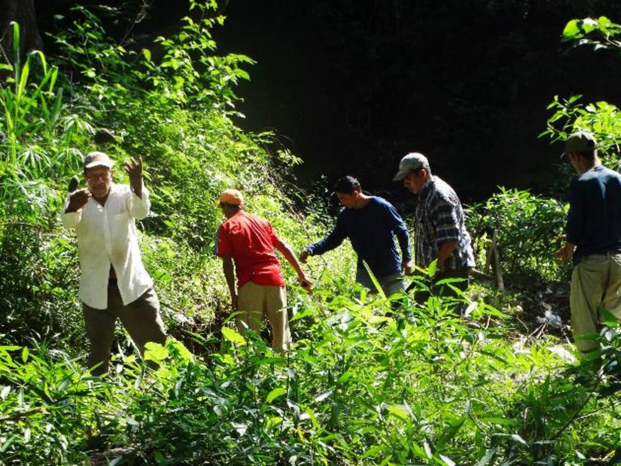 La campaña busca cuidar los recursos naturales y limpiar los ríos de la zona. Foto EDH/ Cortesía