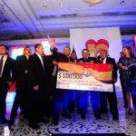 Asociación Agua Viva se llevó el máximo galardón de la noche con 100 mil dólares de premio. Foto EDH / Omar Carbonero, René Quintanilla