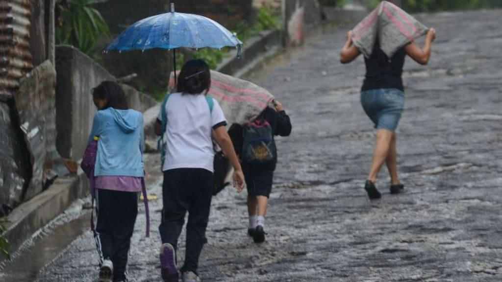 Se esperan más lluvias.