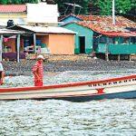 LA UNIÓN. Los habitantes de la isla Conchaguita, del municipio de Meanguera del Golfo, piden la presencia de los Infantes de Marina