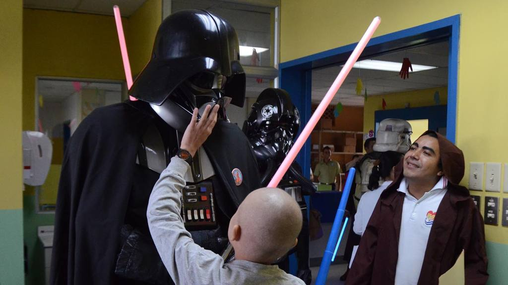 Star Wars en el Hospital Bloom
