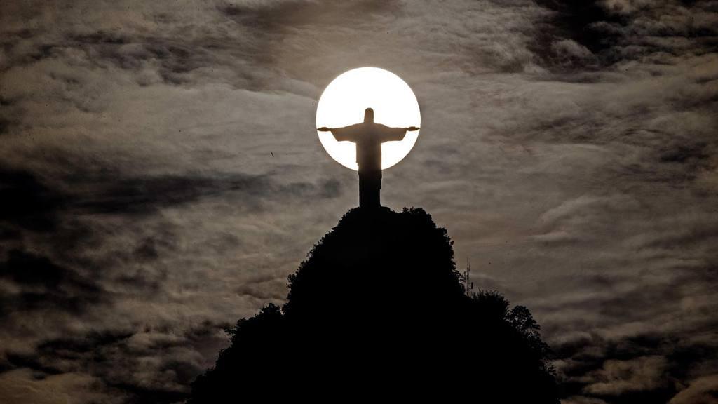Atardecer en Brasil
