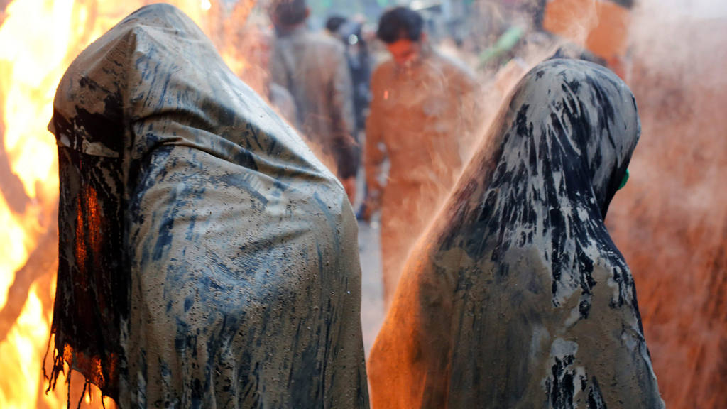 Ashura ceremonies in the city of Khorramabad