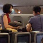 Taiwanesa da a luz en vuelo