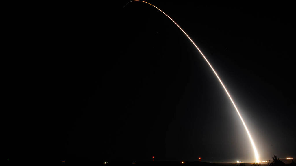 In this photo provided by Vandenberg Air Force Base
