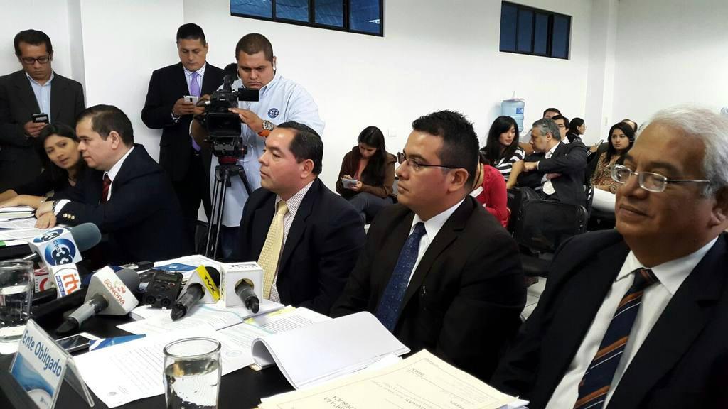 Audiencia en IAIP por declaraciones de bienes