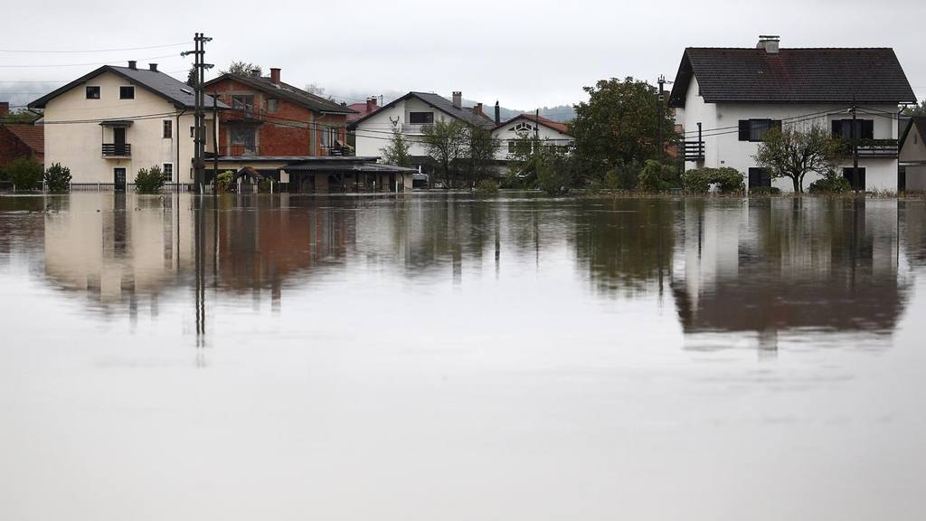 Inundación en Croacia