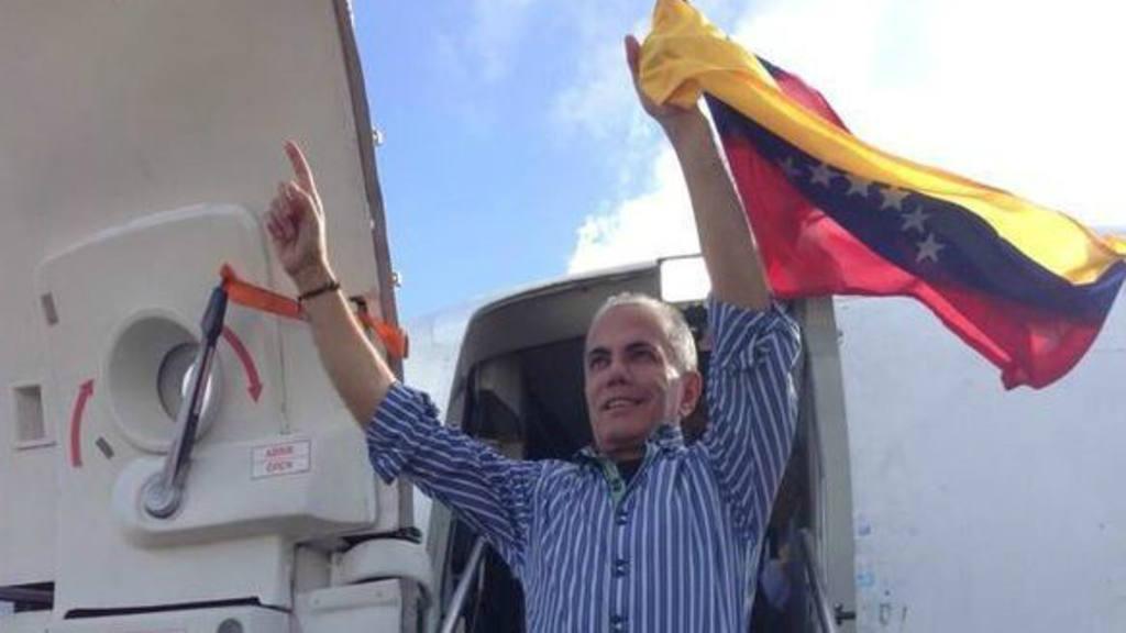 Opositor venezolano Manuel Rosales