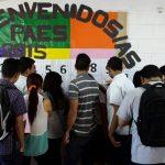 87 mil 500 estudiantes se somenten a la PAES