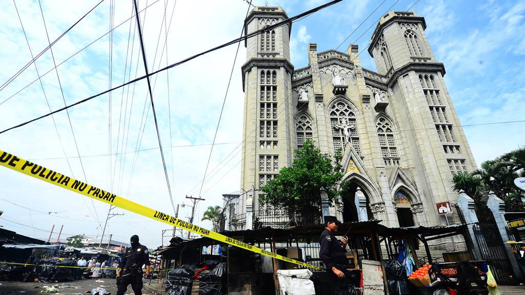 Homicidio Iglesia El Calvario