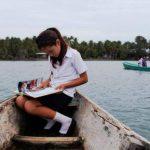 Navegando hacia la escuela, de Irving Alfredo Sánchez