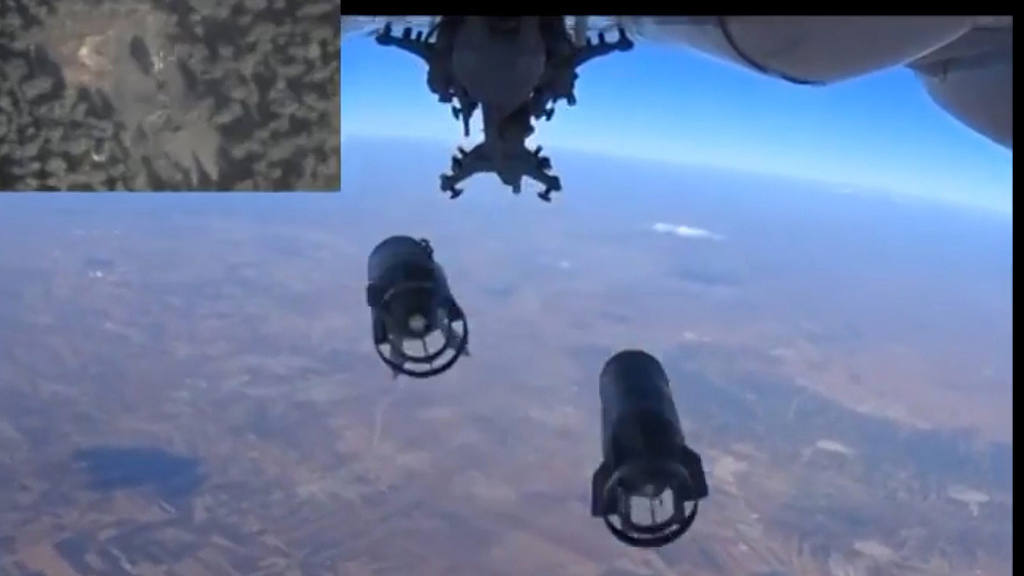 ATAQUE A?REO DE RUSIA EN SIRIA
