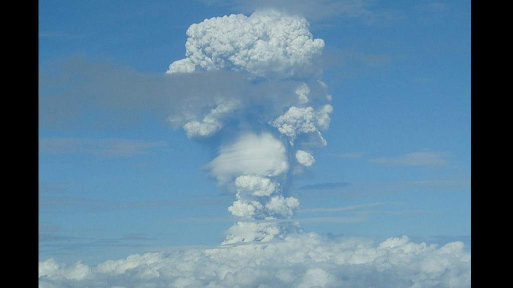 Erupción Volcán Ilamatepec