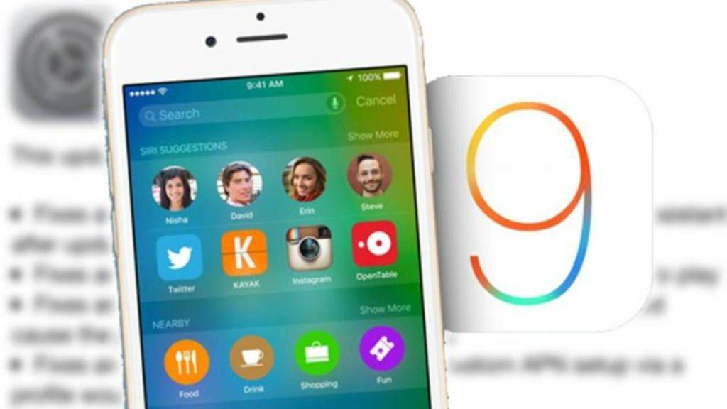 Nuevo sistema operativo móvil de Apple