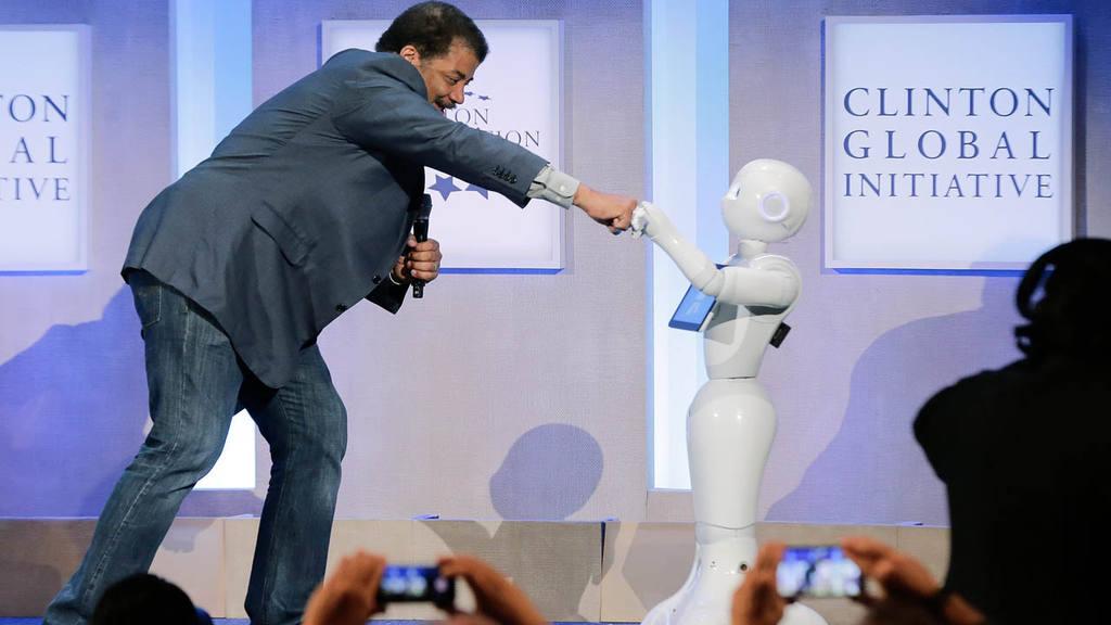 Pepper robot humanoide