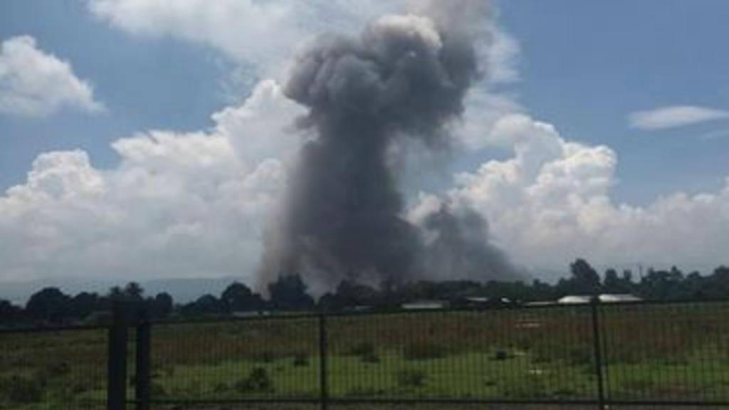 Explosión en Opico