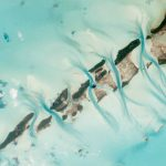 Nasa fotografía avión desde el espacio