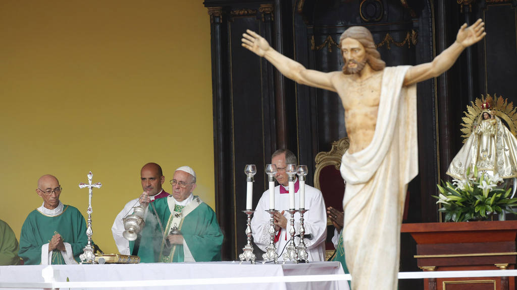 Pope Francis celebrates Mass at Revolution Plaza in Havana