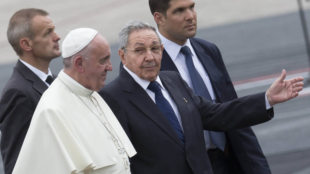 Papa en Cuba