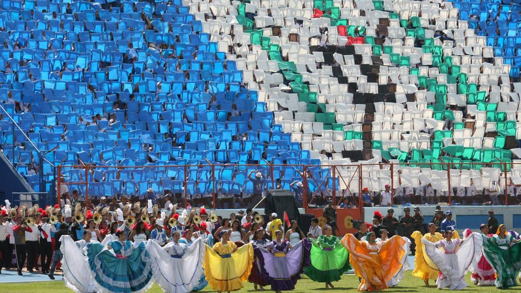 Celebracion de 194 aniversario de Independencia de El Salvador
