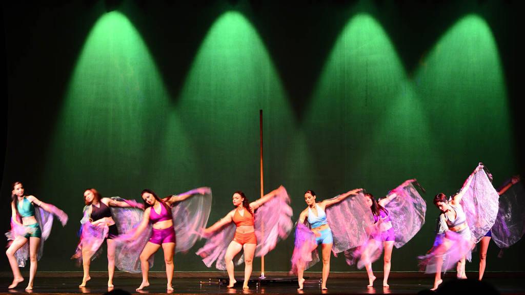 pole  dance.muestra teatro nacional.