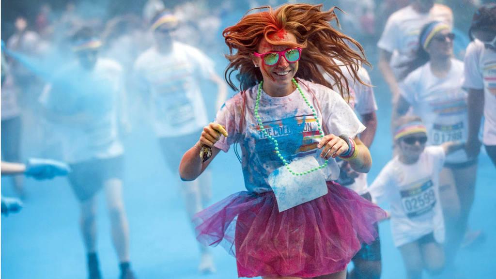 Color Run in Lausanne
